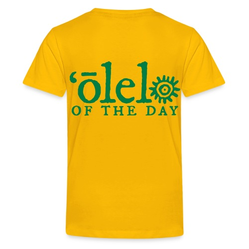 March of Kamehameha - Kids' Premium T-Shirt
