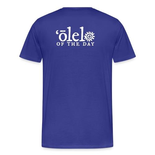 March of Kamehameha - Men's Premium T-Shirt