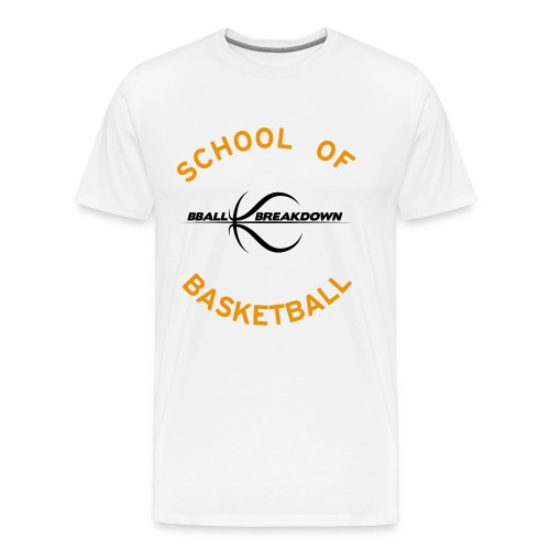 bballbreakdownlogo - Men's Premium T-Shirt