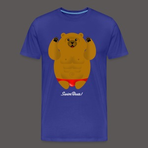 SWIM BEAR! - Men's Premium T-Shirt