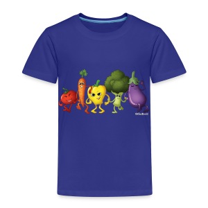 Toddler Veggie Rainbow T-Shirt - Toddler Premium T-Shirt