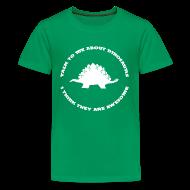 Kids' Shirts ~ Kids' Premium T-Shirt ~ Dinosaurs Are Awesome (Kids Size)