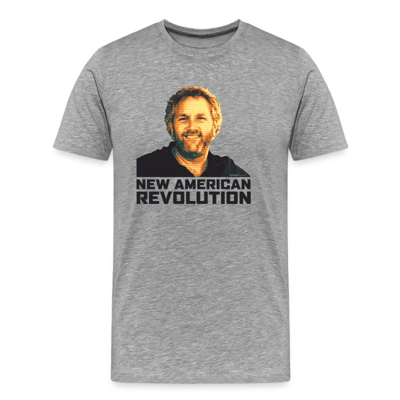 Breitbart Smiles: New American Revolution - Men's Premium T-Shirt