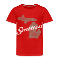 Baby & Toddler Shirts ~ Toddler Premium T-Shirt ~ Smitten