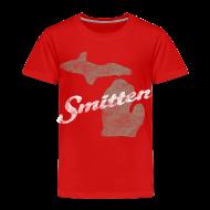 Baby & Toddler Shirts ~ Toddler Premium T-Shirt ~ Smitten