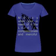 Women's T-Shirts ~ Women's Premium T-Shirt ~ Mercy from the Lord