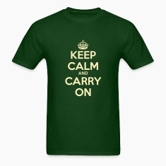 Keep Calm & Carry On Men's T