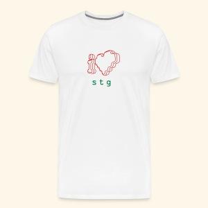 I ❤ STG 2 - Men's Premium T-Shirt