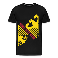 T-Shirts ~ Men's Premium T-Shirt ~ German Eagle, Personalize, Made in Germany