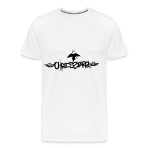 New Chris Starr Logo Tee - Men's Premium T-Shirt