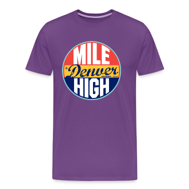 Denver Vintage Label Heavyweight T-Shirt
