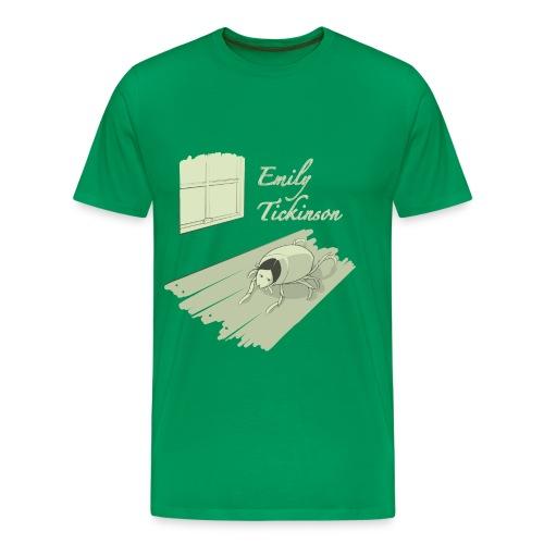 Emily Tickinson - Men's Premium T-Shirt
