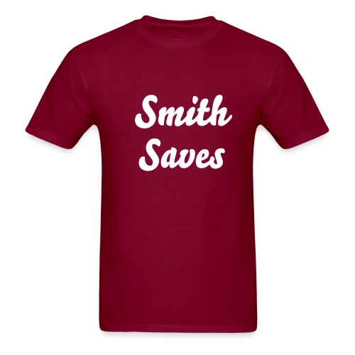 Smith Saves heavy material tshirt - Men's T-Shirt