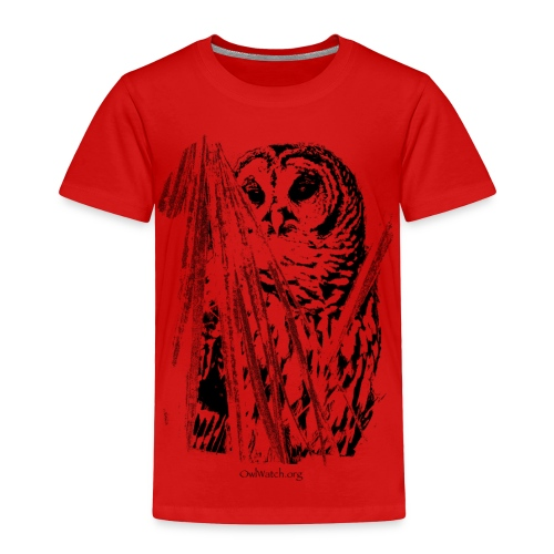 Owl & Palms - Toddler Premium T-Shirt