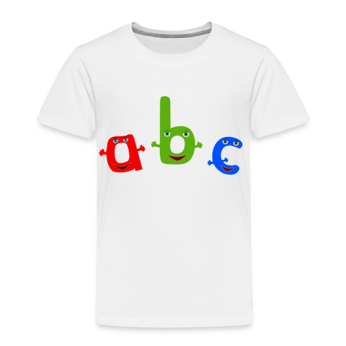 ABC T-Shirt - Toddler Premium T-Shirt