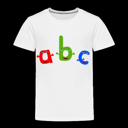 ABC T-Shirt - Toddler Premium T-Shirt