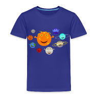 Baby & Toddler Shirts ~ Toddler Premium T-Shirt ~ The Solar System