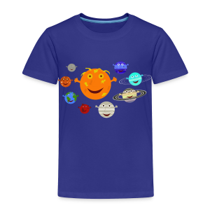 The Solar System - Toddler Premium T-Shirt