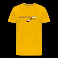T-Shirts ~ Men's Premium T-Shirt ~ No Pressure, No Diamonds (Back)