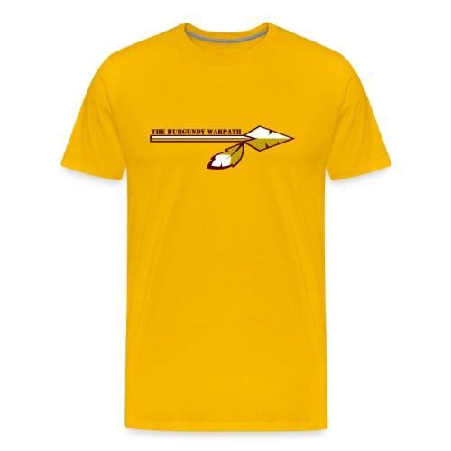 No Pressure, No Diamonds (Back) - Men's Premium T-Shirt