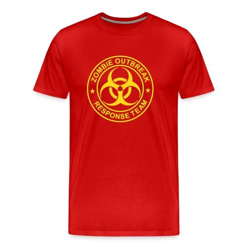 Zombie Outbreak Team Official - Men's Premium T-Shirt