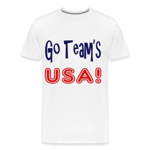 GO TEAMS USA - Men's Premium T-Shirt