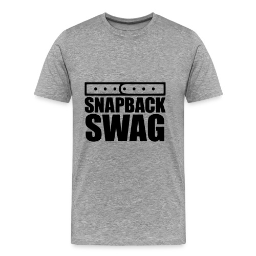 SnapBack Swag T-Shirt - Men's Premium T-Shirt