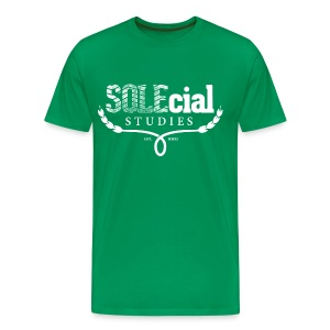SOLEcial Studies Tee by RDQLUS creative (Pick Your Color) 3XL & 4XL *Scholarship Tee* - Men's Premium T-Shirt