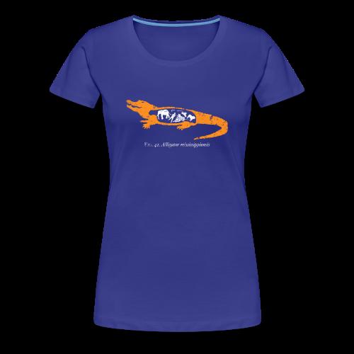 UF Gator Anatomy Womens Tee - Women's Premium T-Shirt