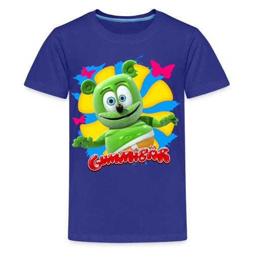 Gummibär (The Gummy Bear) Butterflies Kids' T-Shirt - Kids' Premium T-Shirt