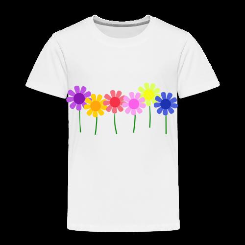 Flowers - Toddler Premium T-Shirt