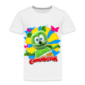 Gummibär (The Gummy Bear) Butterflies Toddler T-Shirt - Toddler Premium T-Shirt