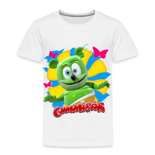 Gummibär (The Gummy Bear) Butterflies Toddler T-Shirt - Toddler Premium T-Shirt