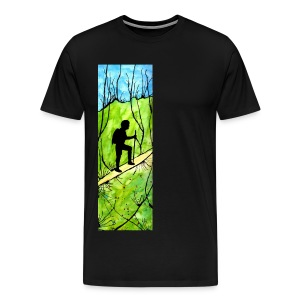 Hiking Heavyweight T-shirt - Men's Premium T-Shirt