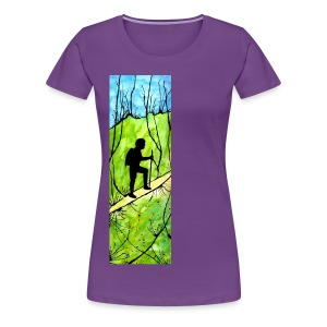 Hiking Women's T-shirt - Women's Premium T-Shirt