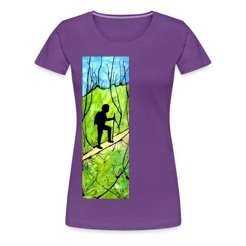 Hiking Women's T-shirt - Women's Premium T-Shirt