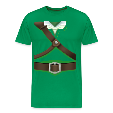 Link Green Tunic (Skyward Sword) - Front Only T-Shirts