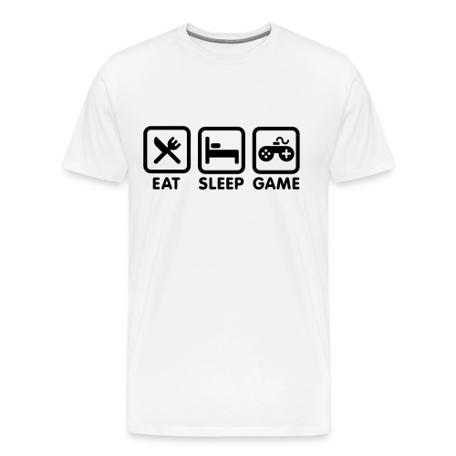 Daily Nerd Routine - Men's Premium T-Shirt