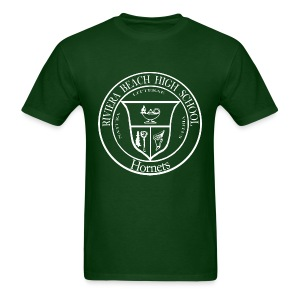 RBHS Hornets version (white ink on dark shirt) - Men's T-Shirt