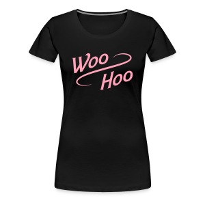 Women's Plus Size Woo Hoo - Women's Premium T-Shirt