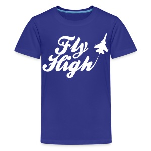 Fly HIgh Kids' Shirts - stayflyclothing.com - Kids' Premium T-Shirt