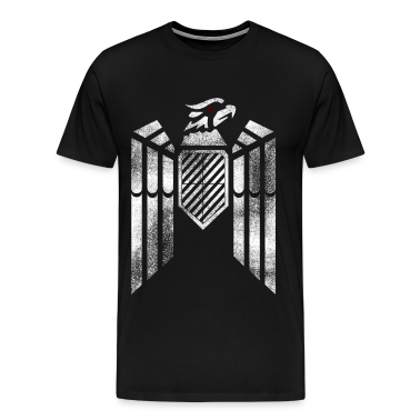 Eagle Nationality Stencil   T-Shirts