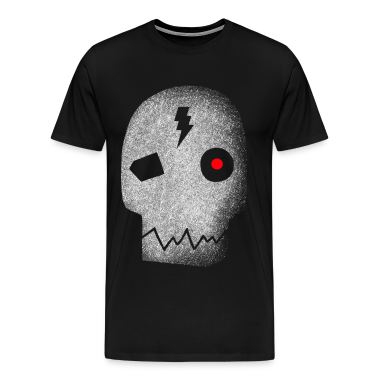 Cyborg_skull_red_eye T-Shirts