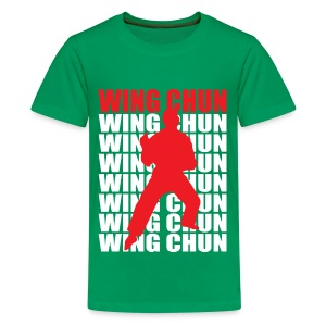 Wing Chun - Kids' Premium T-Shirt