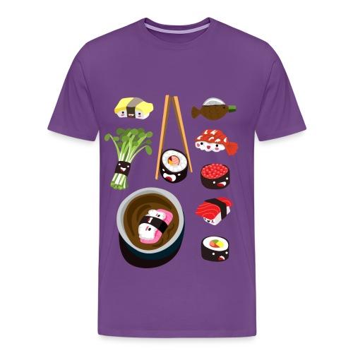 Sushi <3 - Men's Premium T-Shirt