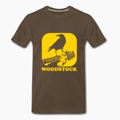 crow on the guitar T-Shirts