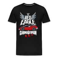 T-Shirts ~ Men's Premium T-Shirt ~ Red Eagle