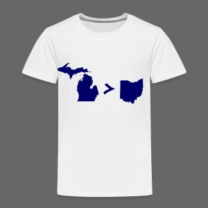 Geography and Math - Toddler Premium T-Shirt