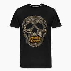 The Golden Skull T-Shirts