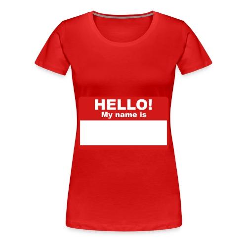Give Me A Like Laptop Sleve - Women's Premium T-Shirt